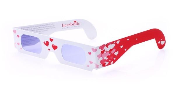 Herzbrille Schwärmerei